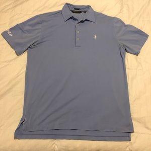 Ralph Lauren Polo Golf Shirt - Blue - Large